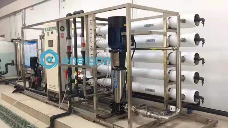 多介质过滤+二级RO反渗透+EDI水处理设备