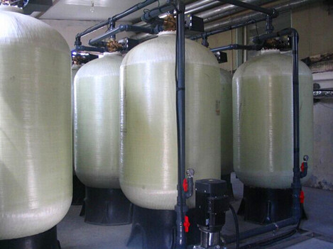 100T/H电厂用锅炉软化水设备