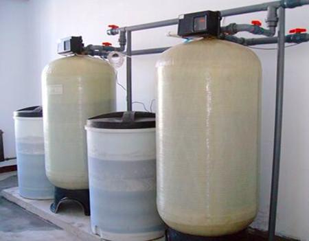 10T/h全自动一用一备软化水设备