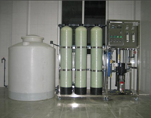 5T/h锅炉软化水设备