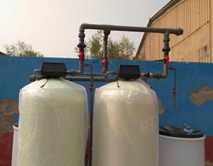 10T/h双阀双罐软化水设备