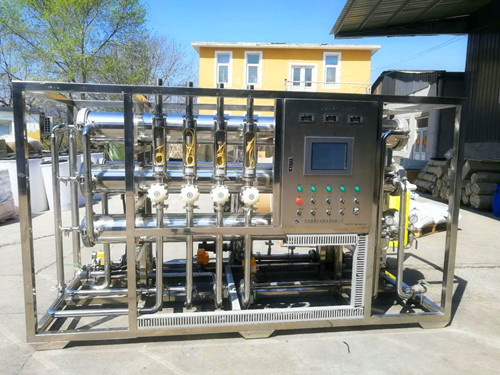RO双级反渗透纯水设备